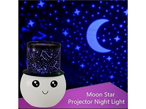 Znyo Proyector de luz LED para Escritorio Relax Sleeping Romantic ...
