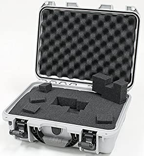 Nanuk 920 Tasche, Würfelförmiger Schaumstoff, Silber, One Size