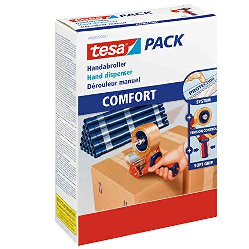 2x tesa® 6400 Handabroller COMFORT (2, ohne klebeband)