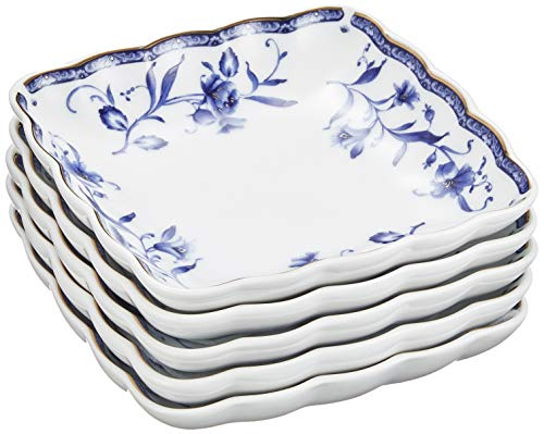 NARUMI(ナルミ) プレート 皿 セット ペレーネブルー 径12cm 5個セット 40721-32718