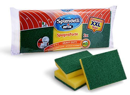Arix Spendelli, Spugna abrasiva Maxi Formato Confezione da 3 Pezzi, by
