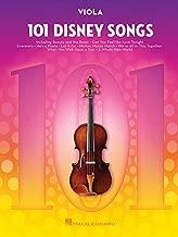 101 Disney Songs: for Viola