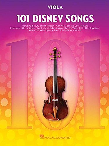 101 Disney Songs -For Viola-: Noten, Sammelband für Viola
