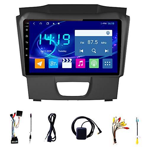 Tlyd Pantalla de navegación de automóviles 4 + 64 Soporte de Memoria de Funcionamiento Bluetooth WiFi Inversión Asistencia Teléfono móvil Interconexión 1080p Adecuado para Chevrolet Dmax S10