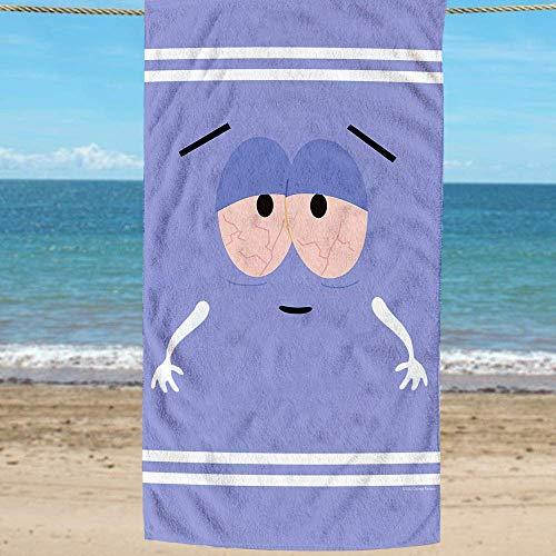 South Park Towelie Strandtuch, offiziell lizenziert, perfekt für den Strand oder Pool.