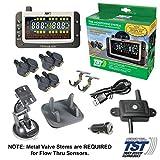 TST TST-507-FT-6-C 507 Series 6 Flow Thru Sensor TPMS & Repeator   Tire Pressure & Temperature Monitoring System RV