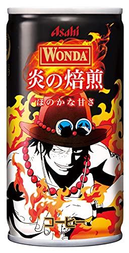 ワンダ 炎の焙煎 ワンピース(ONE PIECE)缶 190g 30缶 1ケース