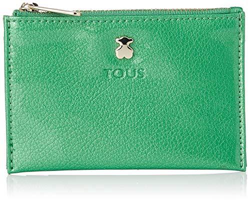 TOUS 995960252, Monedero para Mujer, Verde (Verde), 11.5x8x1 cm (W x H x L)