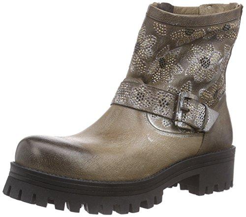 CAFèNOIR Damen Half Biker Boots, Braun (273 Taupe), 40 EU