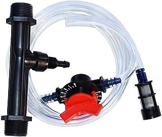 LQKYWNA G1/2 G3/4 Irrigation Fertilizer Injector Venturi Filter Injector Auto-Mix Translucent Kits Irrigation Venturi Tube...
