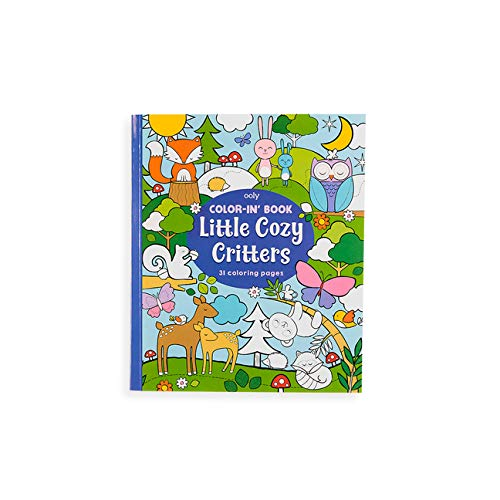 Colorin Book - Little Cozy Critters
