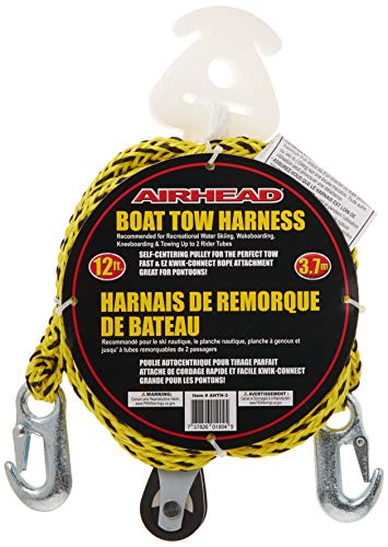 Airhead Watersports Self Centering Tow Harness | 2 Rider - 12 Feet