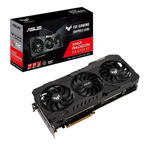 ASUS AMD Radeon RX6700XT 搭載 トリプルファンモデル 12GB TUF-RX6700XT-O12G-GAMING