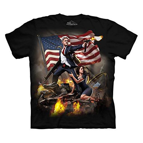 The Mountain Men's Clinton T-Shirt Black XL