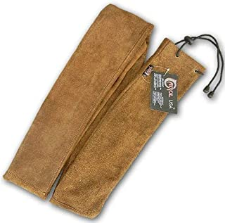 Traditional Archery Leather Long Bow Cover/CASE LBC750 Brown (80