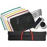 60x90cm (24 x 36) Profesional Plegable Bandera Panel Kit Iluminación Modificador Accesorios Estudio Fotografía GB Garantía Reino Unido Stock IVA Registrado