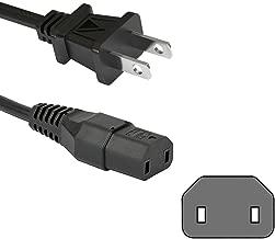 2-Prong Power Cord for Polk Audio AM1805 SurroundBar powered subwoofer - NEW