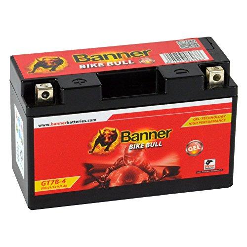 Banner Bike Bull - Batterie GEL moto 12V 6Ah