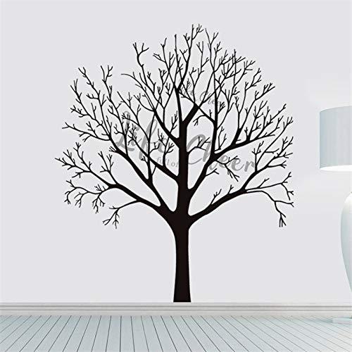 sanzangtang Hohe Baumwandaufkleber entfernbare Wohnzimmer Hauptdekoration Vinyl Wandkunst Aufkleber Zweige,