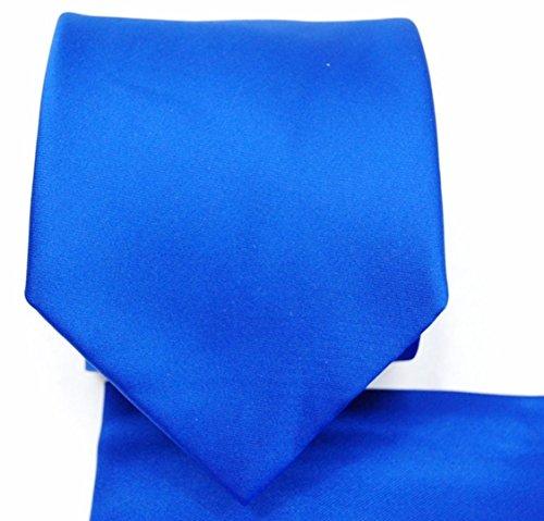 bq Krawatte und passendes Einstecktuch, 8,9 cm breit - mehrfarbig - Einheitsgröße