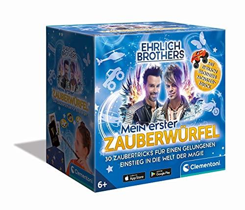Clementoni 59260 Ehrlich Brothers Mein erster Zauberwürfel, Zauberkasten für Kinder ab 6 Jahren, Equipment für 30 Zaubertricks, Zauberbox als Einstieg in die Magie zu Weihnachten