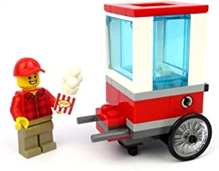 LEGO City Popcorn Cart Construction Set 43 Pieces Polybag