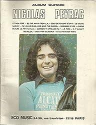 Album guitare - Nicolas PEYRAC ( tablature )