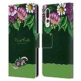 Head Case Designs Licenza Ufficiale Frida Kahlo Boccioli Floreale Porpora Cover in Pelle a Portafoglio Compatibile con Huawei P20 PRO