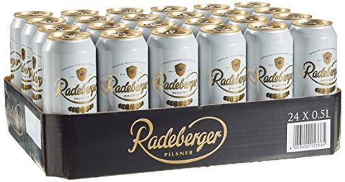 Radeberger Pilsner, EINWEG 24x0,50 L Dose