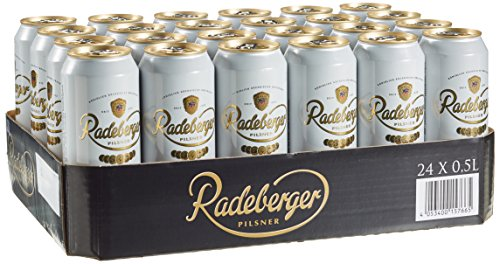 Radeberger Pils EINWEG Dose, (24 x 0,5 l)