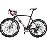Eurobike Road Bikes 700C Wheels 54cm Frame 21 Speed (60mm)