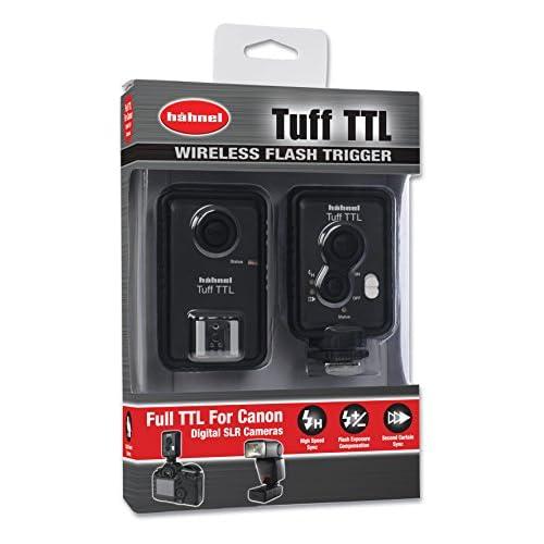 Hahnel HL Tuff Viper Flash Trigger Remoto Wireless per Canon, Nero/Antracite