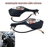 Motorrad-Rückspiegel, integrierter Blinkerspiegel für Honda CBR1000RR CBR 1000RR 2008-2012 Sport...