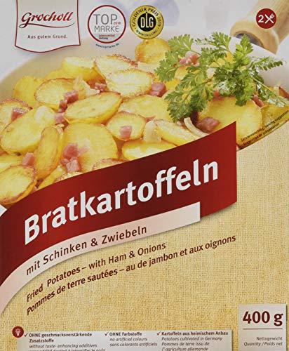 Grocholl Bratkartoffeln mit Schinken & Zwiebeln, 9er Pack (9 x 400 gm)