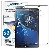 ebestStar - [Lote x2 Cristal Templado Compatible con Samsung Galaxy Tab A6 A 10.1 (2018, 2016) T580 T585 Protector Pantalla, Película Dureza 9H, Sin-Burbujas [Aparato: 254.2x155.3x8.2mm 10.1']