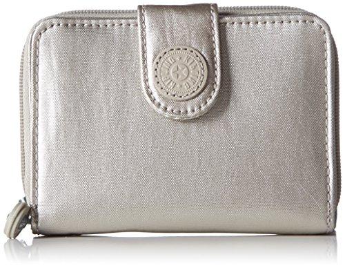 Kipling NEW MONEY BP K1388639W Damen Geldbörsen 10x13x3 cm (B x H x T), Beige (Silver Beige N 39W)