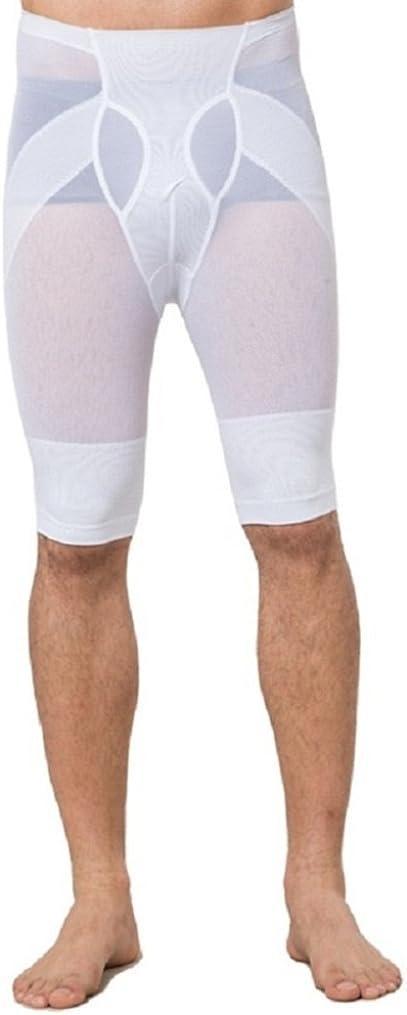 CHENXI 2017 Mens Hot Summer Net Cloth Abdomen Lift Hips Legs Bodybuilding Bodysuit Five Point Shaping Pants