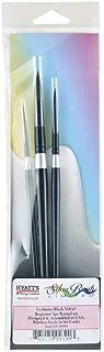 Hyatts Exclusive by Silver Brush Black Velvet Beginner 3pc Set (HY-3090S)