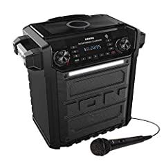 This Certified Refurbished product is refurbished to factory specifications, it shows limited or no wear Includes all original accessories plus a 90 Day Warranty Ion Audio Pathfinder Charger, Bluetooth Portable Speaker with Wireless Qi Charging When ...