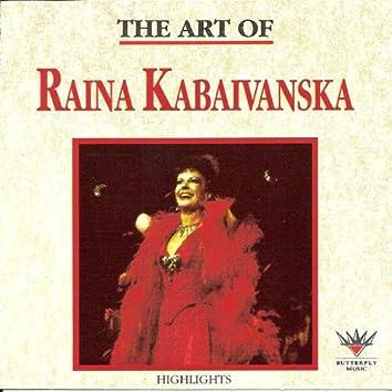 The Art of Raina Kabaivanska
