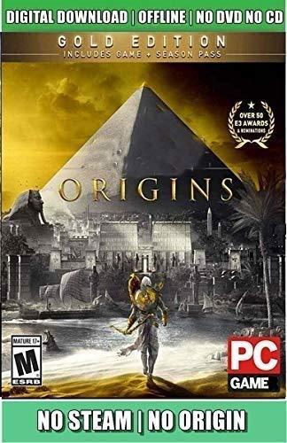 Asassins-Creed-Origins Full PC Game (Digital Download) – {{ No DVD/CD/No Online REDEEM CODE.}}