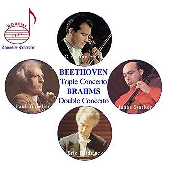 Christian Ferras, Vol. 2: Beethoven Triple & Brahms Double Concertos (Live)