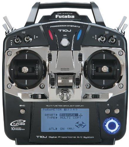 Futaba 10JH 10-Channel Heli T-FHSS Computer Radio System