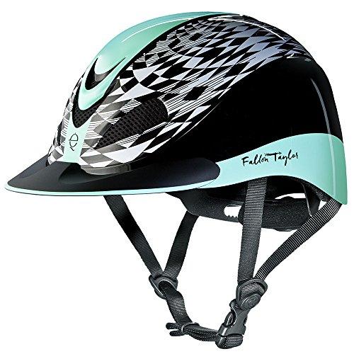 Troxel Fallon Taylor Performance Helmet, Mint Aztec, Large