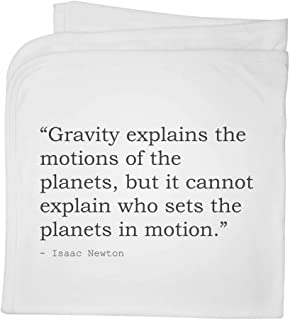 Religion Quote by Isaac Newton Cotton Baby Blanket / Shawl (BY00014454)