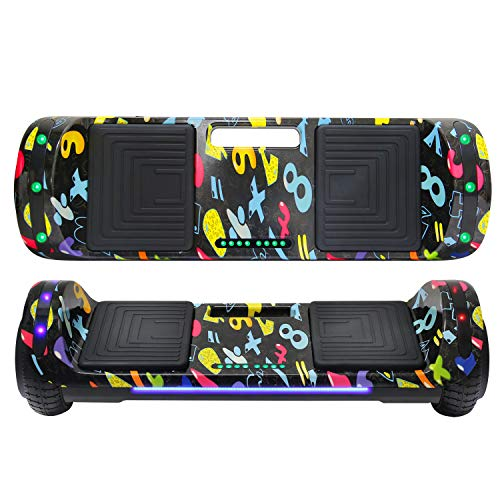 Beston Sports Hoverboard with LED Light Smart...