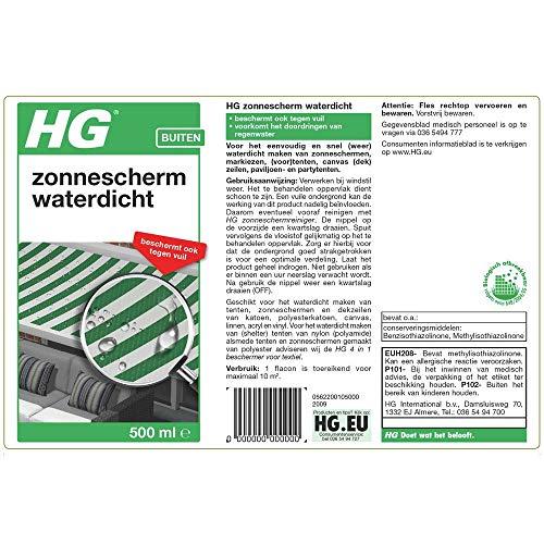 HG waterdicht v. dekzeil/tent