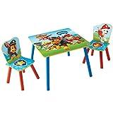 La Pat' Patrouille - Ensemble table et 2 chaises pour enfants