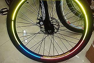 8 PCS Sheet Fashionable Bike Wheel Reflective Stickers