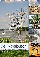 Der Meerbusch - Meerbuscher Rheinspaziergang (Wandkalender 2022 DIN A2 hoch): Malerische Augenblicke in den Meerbuscher Rheinauen (Monatskalender, 14 Seiten )